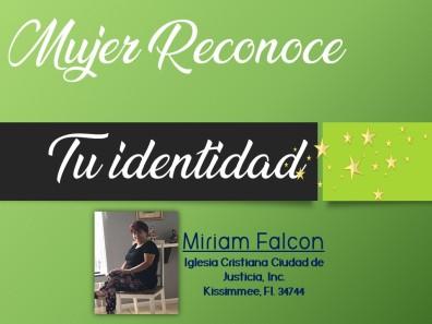 MIRIAM FALCON